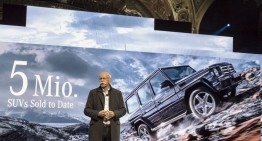 Mercedes sales: the best January ever with over 193,000 cars sold