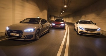 Mercedes-AMG C 63 vs Audi RS 5, BMW M4: Power coupes with 1,376 hp