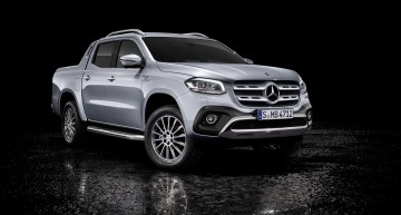 Official: Mercedes X-Class pickup with V6 power is finally here