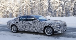 All new Mercedes S-Class shows its face – First ever pictures