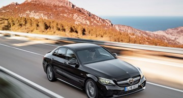 Official: The new Mercedes-AMG C 43 4Matic  facelift
