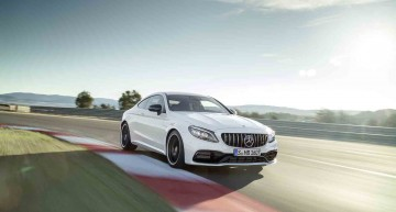 When the storm hits the track – First video of the Mercedes-AMG C 63 S Coupe 2018
