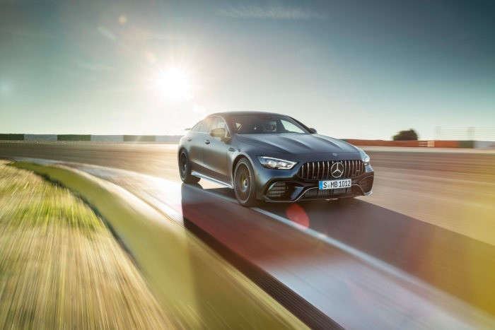 The production of the new Mercedes-AMG GT 4-Door Coupé starts in Sindelfingen