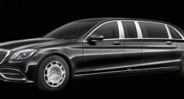 The Mercedes-Maybach Pullman gets updated with extra stylish elements