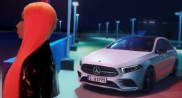 "Nicki Minaj and the new A-Class. ""Just like you"" campaign"