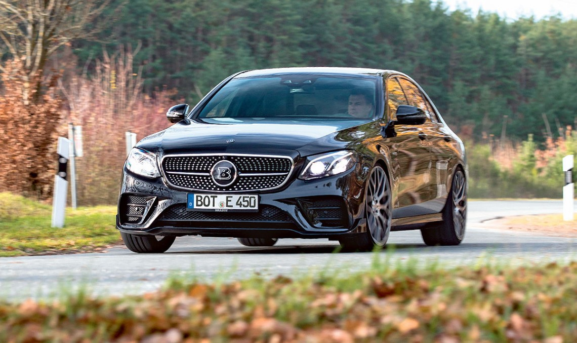 Tuning test: Mercedes-AMG E 43 morphs into Brabus E 450 with 450 hp