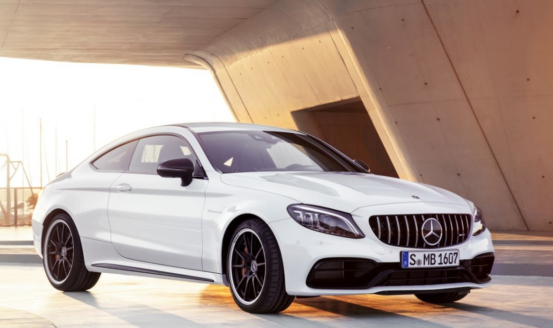 New York Auto Show 2018: Mercedes-AMG C 63 Coupe facelift is official