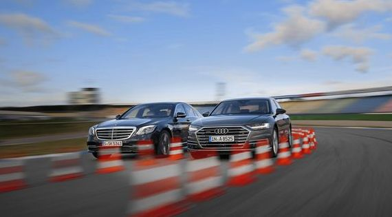 New Audi A8 50 TDI Quattro vs. Mercedes S 350 d: Diesel engines in the luxury class