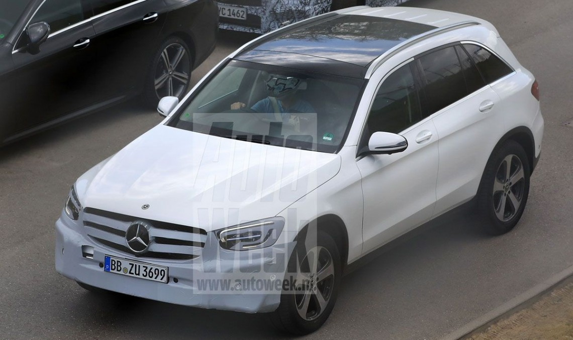 2019 Mercedes GLC: Updated SUV revealed in first spy photos