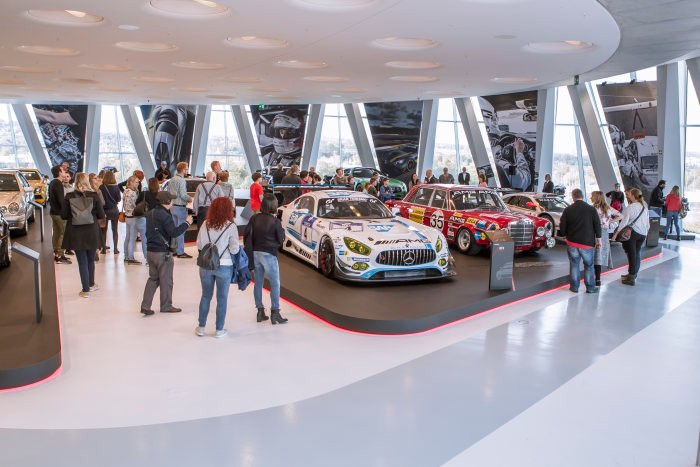 """The special exhibition """"50 Years of AMG"""" ends in style with a passenger ride event"""