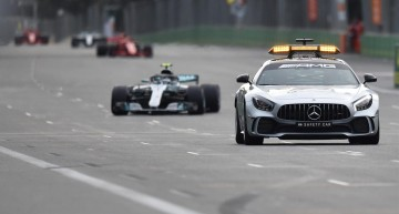 Lewis Hamilton wins insane race at the Azerbaijan Grand Prix