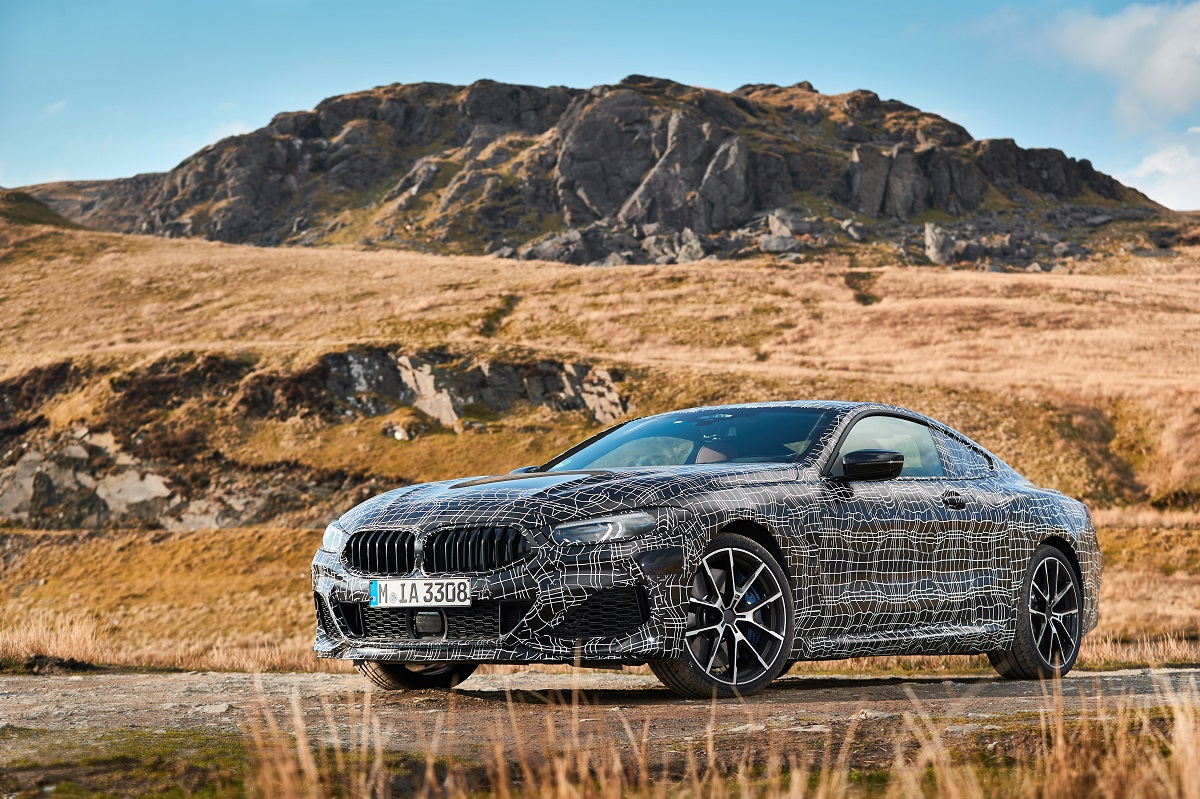 The S-Class Coupe finally gets a rival  The BMW 8 Series