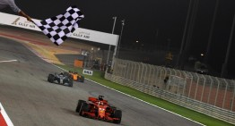 Desert drama. The Silver Arrows finish 2nd and 3rd at the Bahrain Grand Prix
