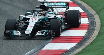 Wild wild East – Mercedes settles for the 2nd and 4th spots at the Chinese Grand Prix