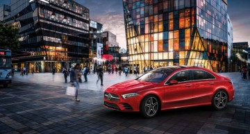 The Mercedes-Benz A-Class L Sedan breaks cover in China