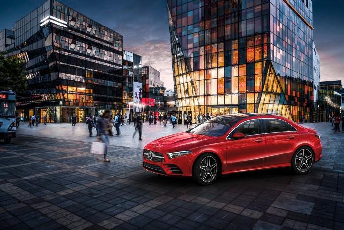 The Mercedes-Benz A-Class L Sedan breaks cover in China