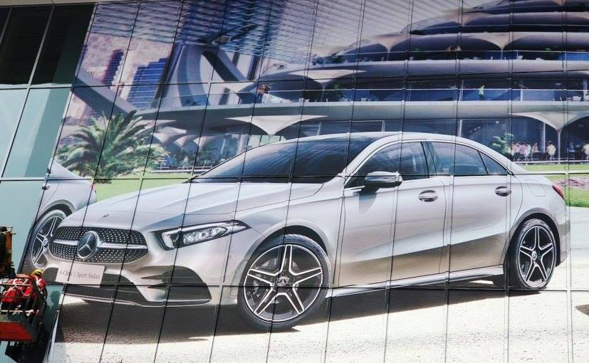 Leaked – Mercedes-Benz A-Class Sedan shown ahead of debut