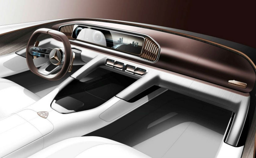 New teaser of the Mercedes-Maybach Ultimate Luxury to be shown in Beijing