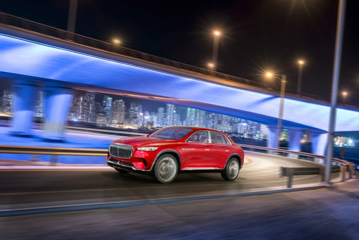 World premiere of Vision Mercedes-Maybach Ultimate Luxury