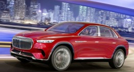 Mercedes-Maybach Vision Ultimate Luxury Concept leaked and it's not a GLS