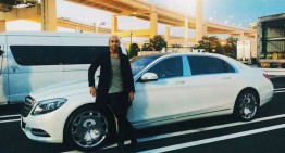 Lewis Hamilton is selling his Mercedes-Maybach S600