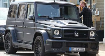 Goalkeeper who doomed Liverpool to drama in the Champions League final, Karius, owns a Mercedes-AMG G 63