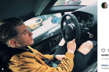Loris Karius Mercedes-AMG G 63 (2)