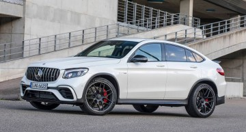 The Mercedes-AMG GLC63 S 4MATIC+ Coupe is the fastest SUV on the Sachsenring