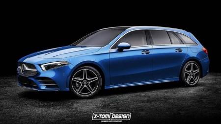 Mercedes-Benz A-Class Wagon render
