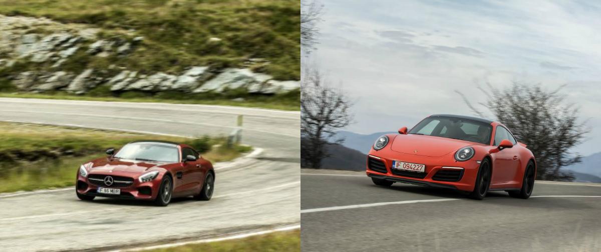 Porsche 911 vs Mercedes-AMG GT