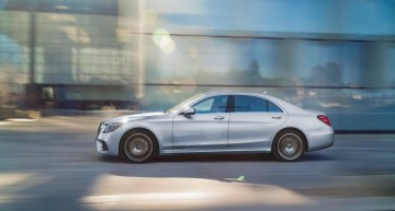 Record unit sales in April for Mercedes-Benz