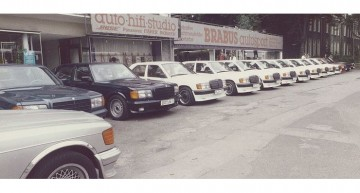 40 YEARS BRABUS TUNING: Much faster, much further – short history