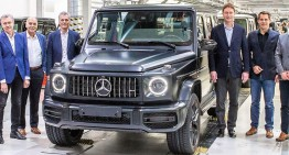 The production of the new Mercedes-Benz G-Class has started in Graz