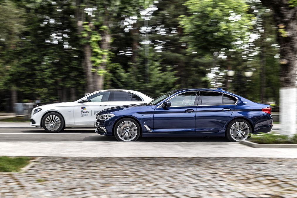 test Mercedes E 350 e vs BMW 530e (13)