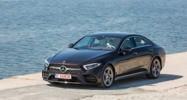 Test Drive Mercedes CLS 400 d 4Matic