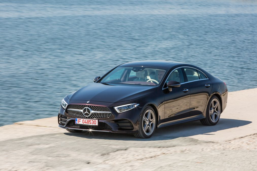 Mercedes CLS 350 d is the cleanest diesel in the world
