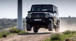 First test Mercedes G-Class 2018: Driving report On and Off-Road