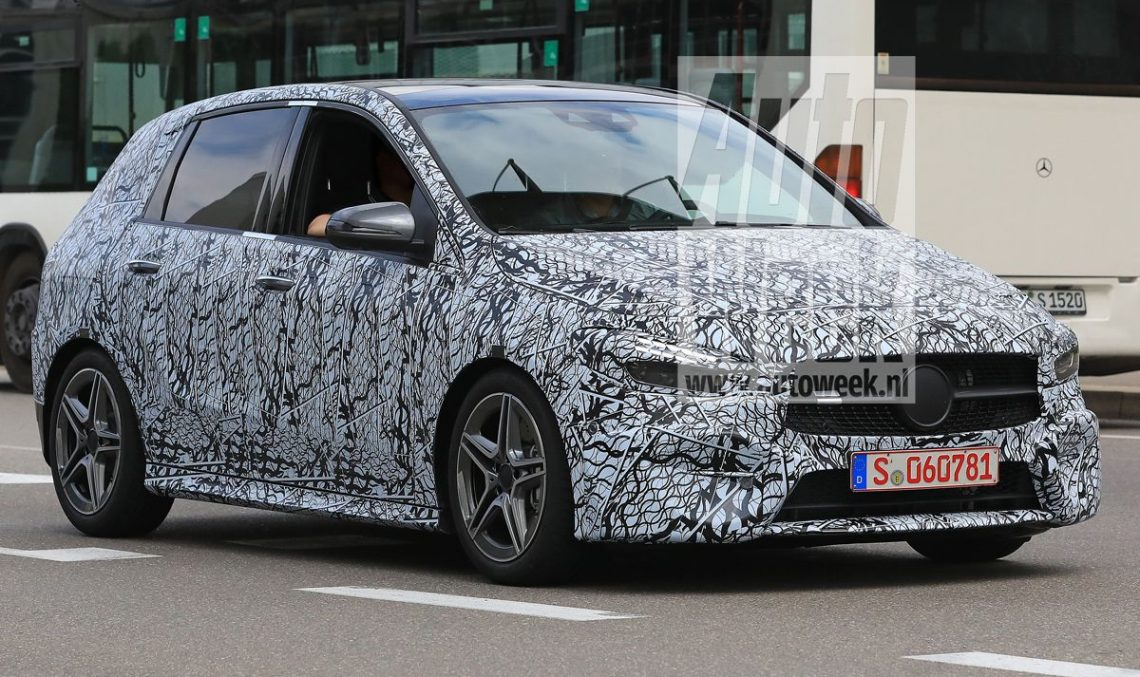 MPV for the family: 2019 Mercedes B-Class retains its shape – spy pics