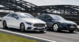 2019 Mercedes CLS versus Audi A7 Sportback: The most beautiful duel of the year