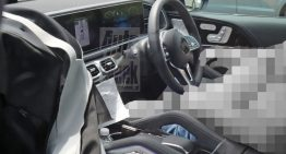 SCOOP: First photos of new 2019 Mercedes GLE interior