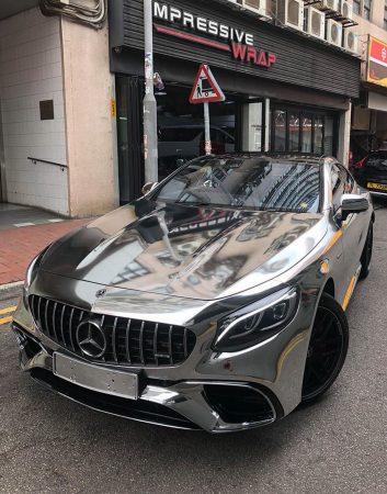 Mercedes-AMG S63 Coupe-chrome-wrap-2 (5)