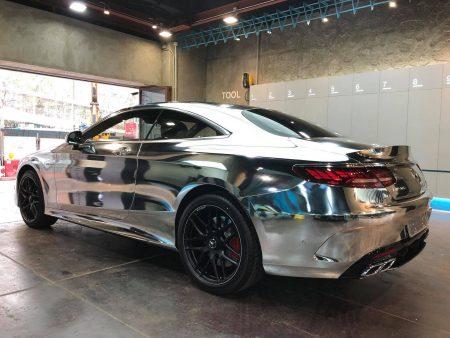 Mercedes-AMG S63 Coupe-chrome-wrap-2 (7)