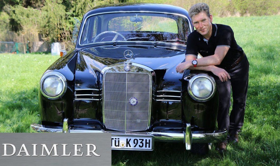 A car with a (hi)story – The Mercedes-Benz 180 Ponton