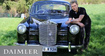 A car with a (hi)story – The Mercedes-Benz 180 Ponton