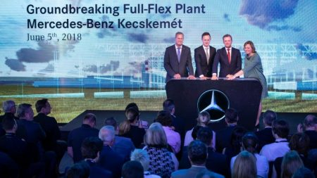 Mercedes-Benz car plant in Hungary (2)