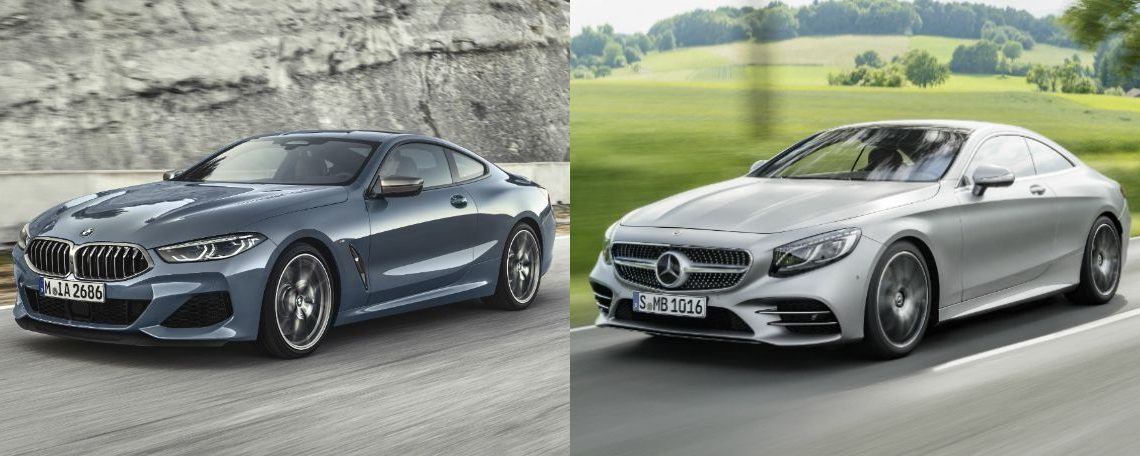 This is the new BMW 8 Series, the fierce rival of the Mercedes S-Class Coupe