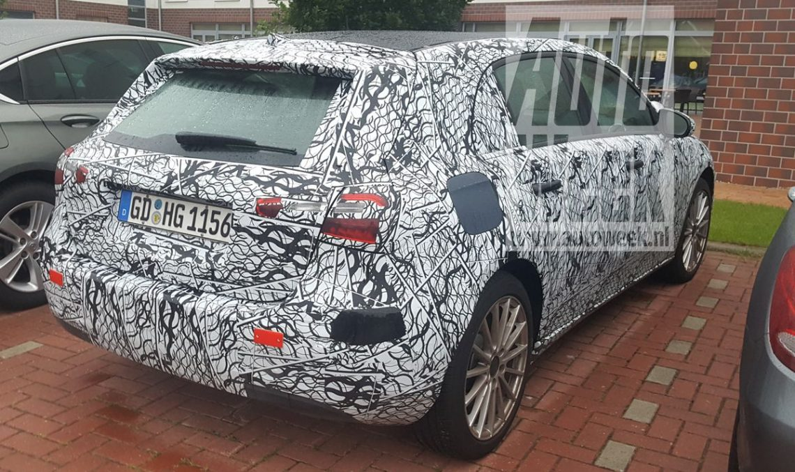 FIRST EVER PICS: Mercedes-Benz A-Class in plug-in hybrid guise