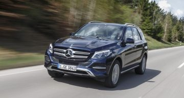 Mercedes-Benz GLE earns highest safety award