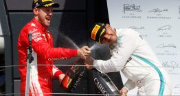 Lewis Hamilton drops to P18 and finishes second at the British Grand Prix