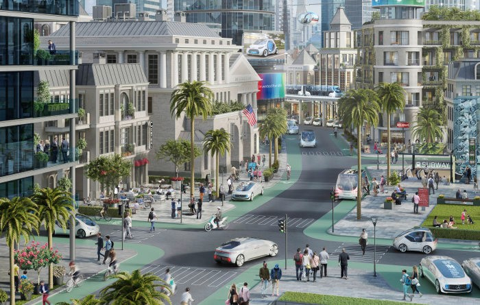Daimler, Bosch and Nvidia are sending the first autonomous shuttles to California